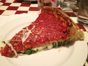 Classic Chicago deep dish from Giordano's