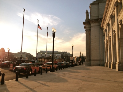Union Station in Washington DC, a place of frequent comings and goings