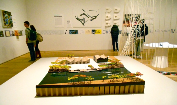 from last year's visit to an at the Chicago Art Institute on the Studio Gang Architects