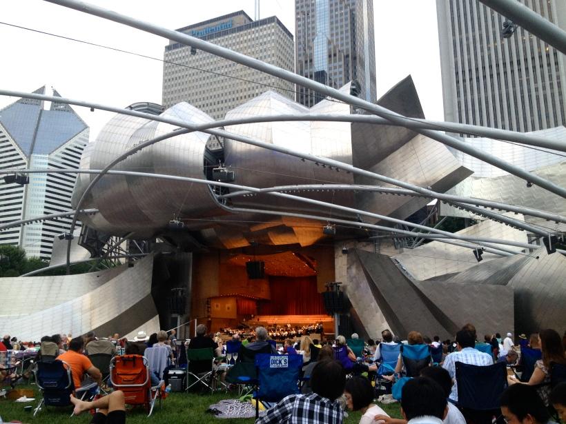 Free classical music concert in Millenium Park