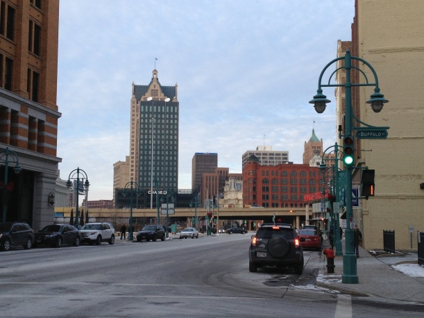 Milwaukee's Third Ward in Winter