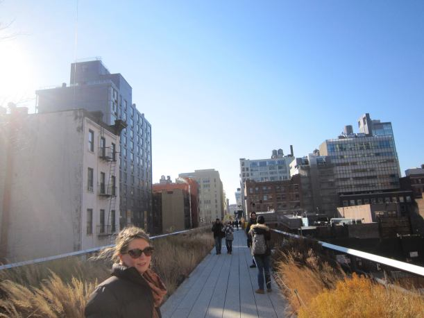 Rachel Q at the High Line