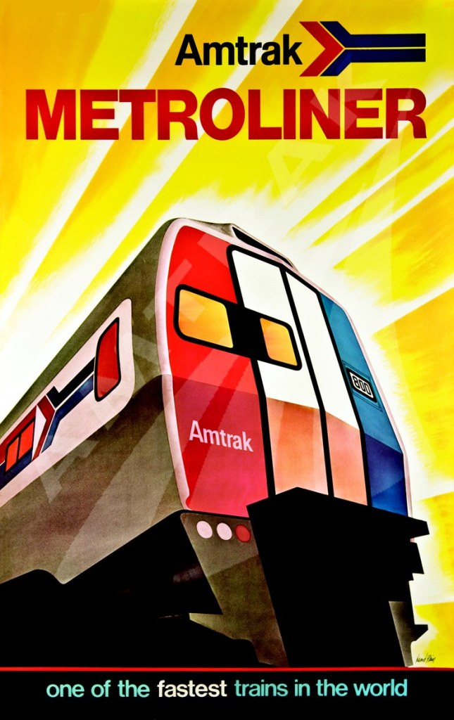 Historic Amtrak Poster
