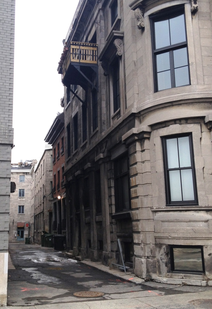 Montreal alleys