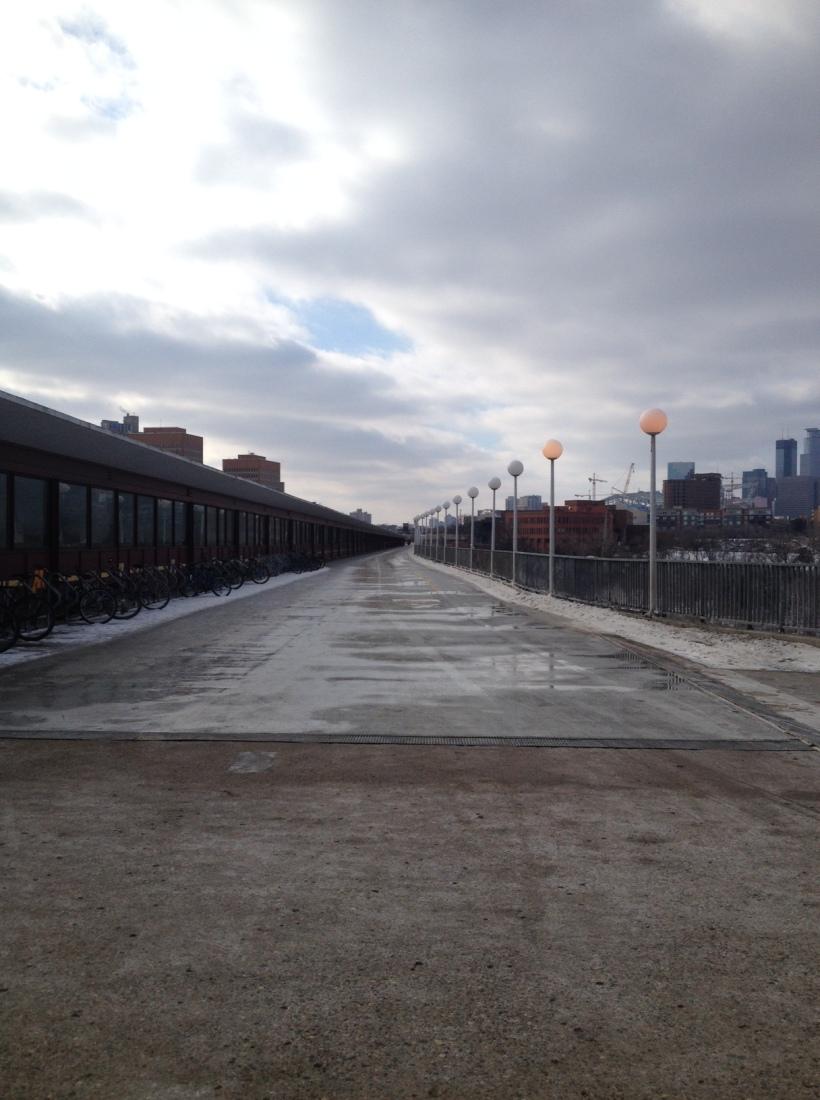 Pedestrian Bridge University of MN