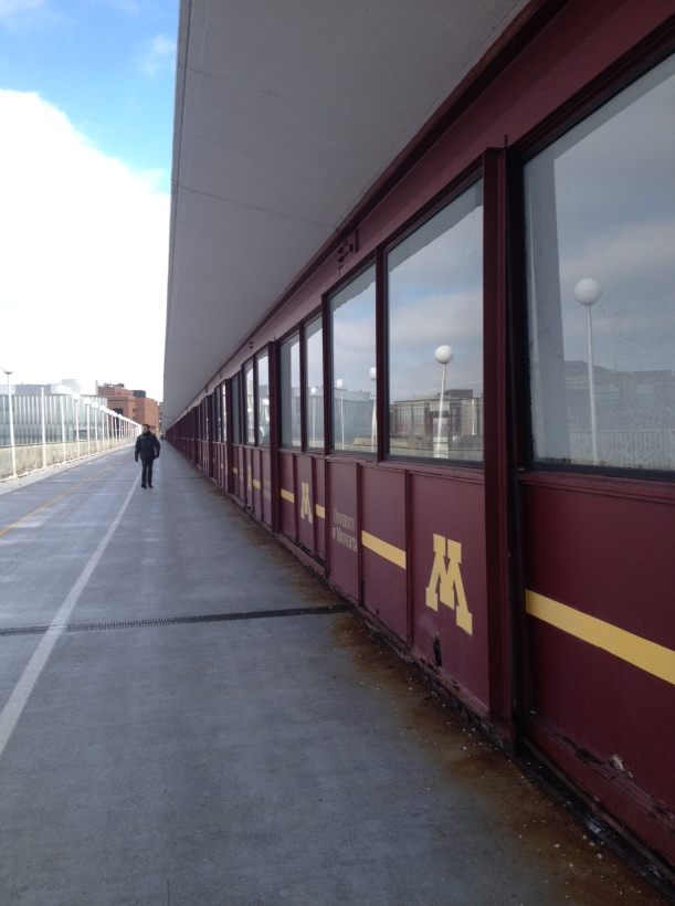 Pedestrian Bridge 2 University of MN