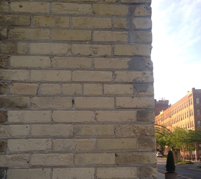 Close-up of Milwaukee's signature building material,