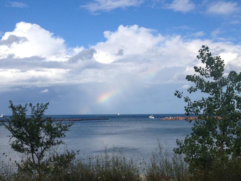 Lake Michigan Rainbow